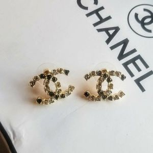 Authentic crystal studs